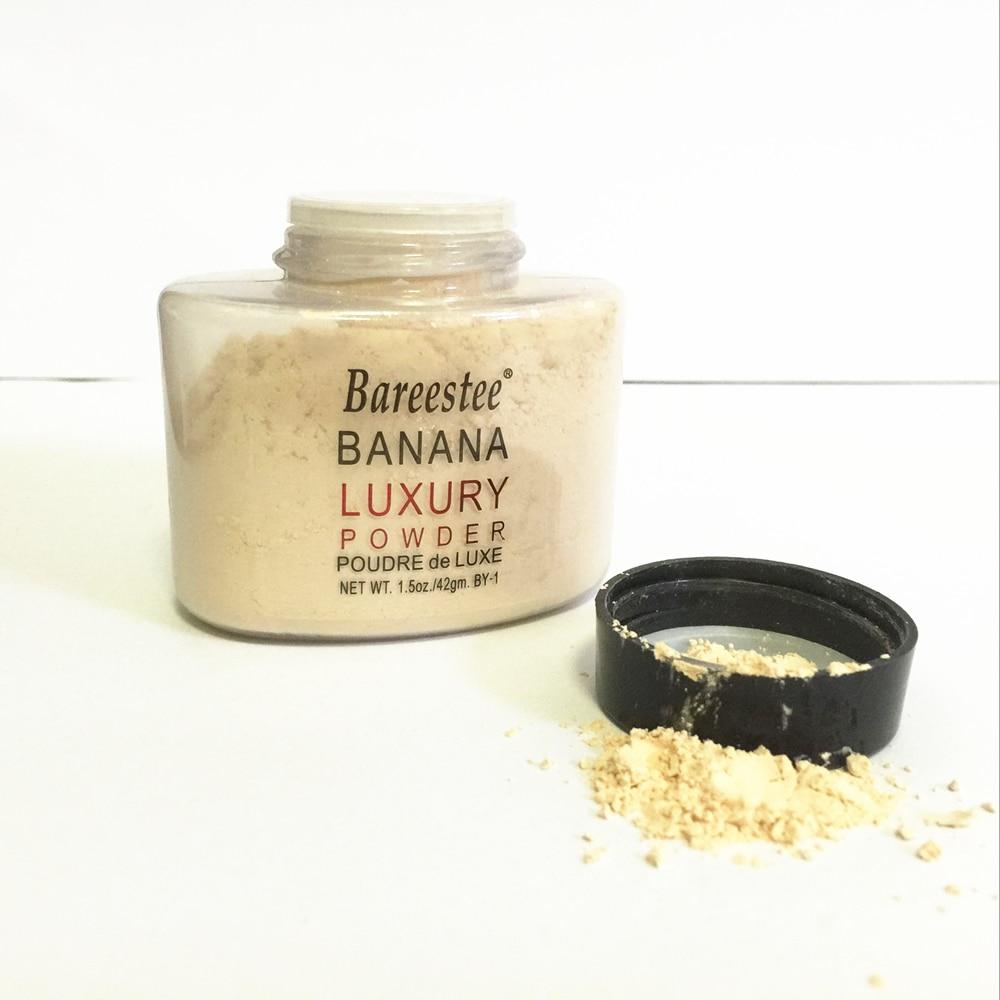 42g Banana Powder Smooth Loose Oil control Face Powder Makeup Concealer Mineral Foundation Powder Korea Cosmetics