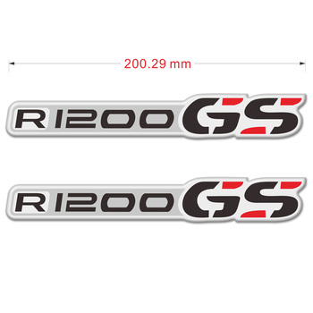 Motorcycle Stickers For BMW R1200GS R1200 R 1200 GS Side Panel Protector Fairing Emblem Tank Pad Protection GSA Aluminum Case image