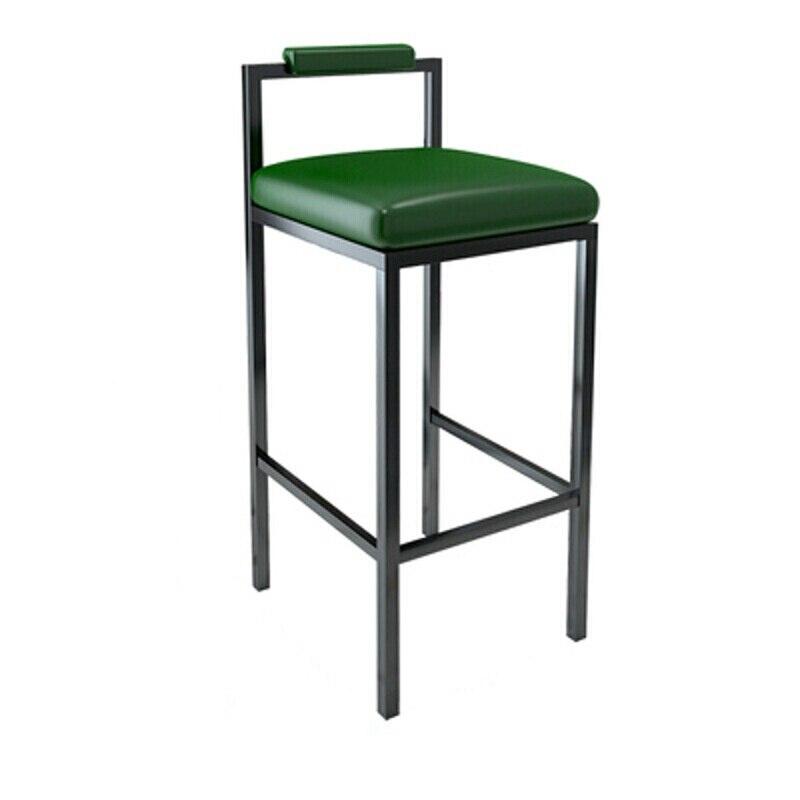 H1 Nordic Modern Minimalist Bar Stool Bar High Stools Home Wrought Iron Coffee Shop Solid Wood Strip Table Bar Chair  Bar Stools