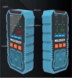 Image 2 - Mileseey Handheld LCD Multifunctional gas detector 4 in 1 toxic harmful gas H2S/CO/O2/ EX gax Analyzer High Precision Detector