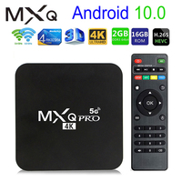 Nuovo Smart TV BOX Android MXQ PRO 4K 5G Android 10.0 TV BOX Rockchip RK3228A Quad Core 2GB 16GB 4K HD 2.4G-5G Wifi Android TV BOX