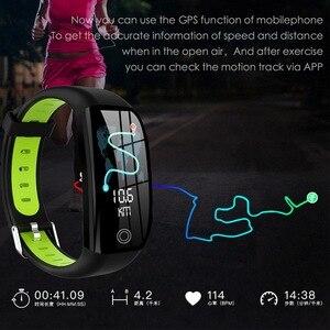 Image 4 - F21 Smart Bracelet GPS Distance Fitness Activity Tracker IP68 Waterproof Blood Pressure Watch Sleep Monitor Band Wristband