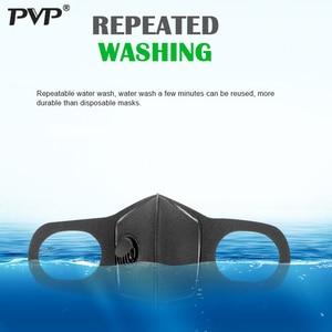 Image 4 - Маска для лица унисекс с эффектом защиты от загрязнения PM2.5, вставка с фильтром из активированного угля, можно стирать, многоразовая, для мужчин и взрослых