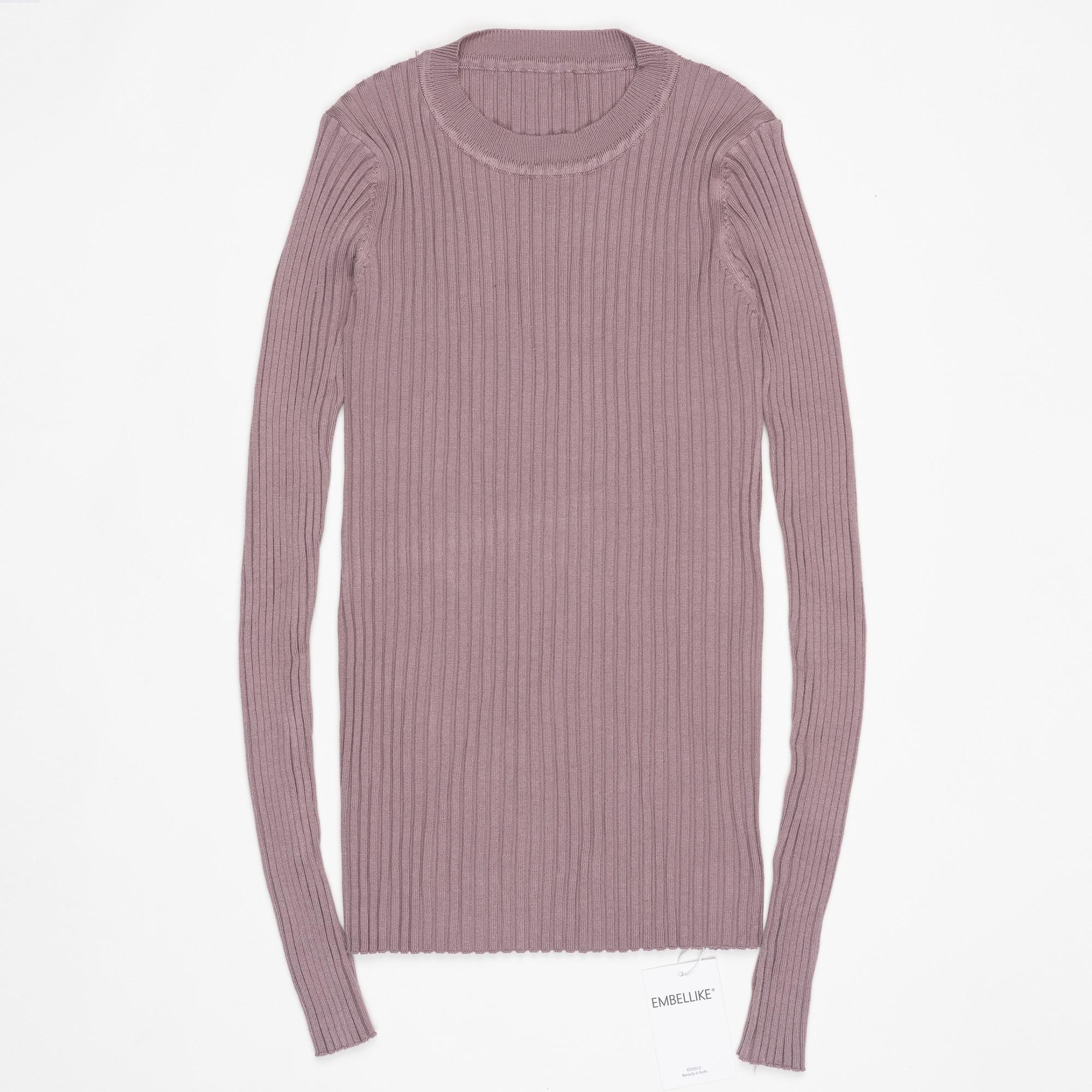 Γυναικεία πουκάμισο πουλόβερ με - Γυναικείος ρουχισμός - Φωτογραφία 3