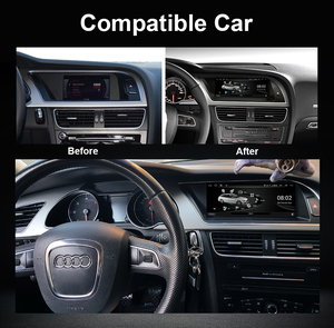 """Image 2 - 8.8"""" Octa Core Car IPS Touch Screen Radio For Audi A5 2009 2016 WIFI SWC BT Music Android 10 System 4G Carplay 4+64G Multimedia"""