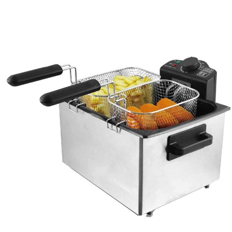 2000W Commercial Fryer 5L Fried French Fries Fried Chicken Wings Oil free Smoke Potato Tower Household Electric Fryer|Food Processors|   - title=