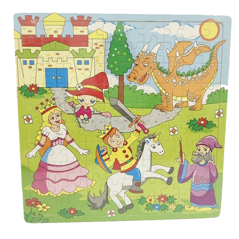 Children Educational Jigsaw Puzzle 100 Pieces Wooden Large Jigsaw Puzzle Children'S Educational ENLIGHTEN Early Childhood Cognit