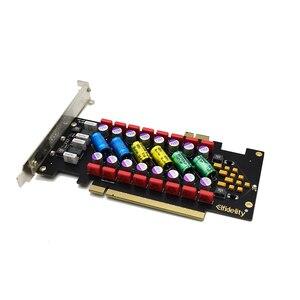 Image 3 - Lusya الطاقة تنقية ايفي PC الصوت مرشح السلطة المعزل امدادات للكمبيوتر تصفية PCI/PCI e بت I4 009