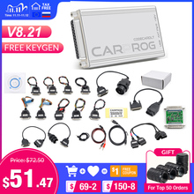 Carprog Herramienta de reparación de automóviles V10.05 V8.21 V10.93, sintonizador de con Chip ECU, programador de Carprog con todos los 21 adaptadores, herramienta de diagnóstico