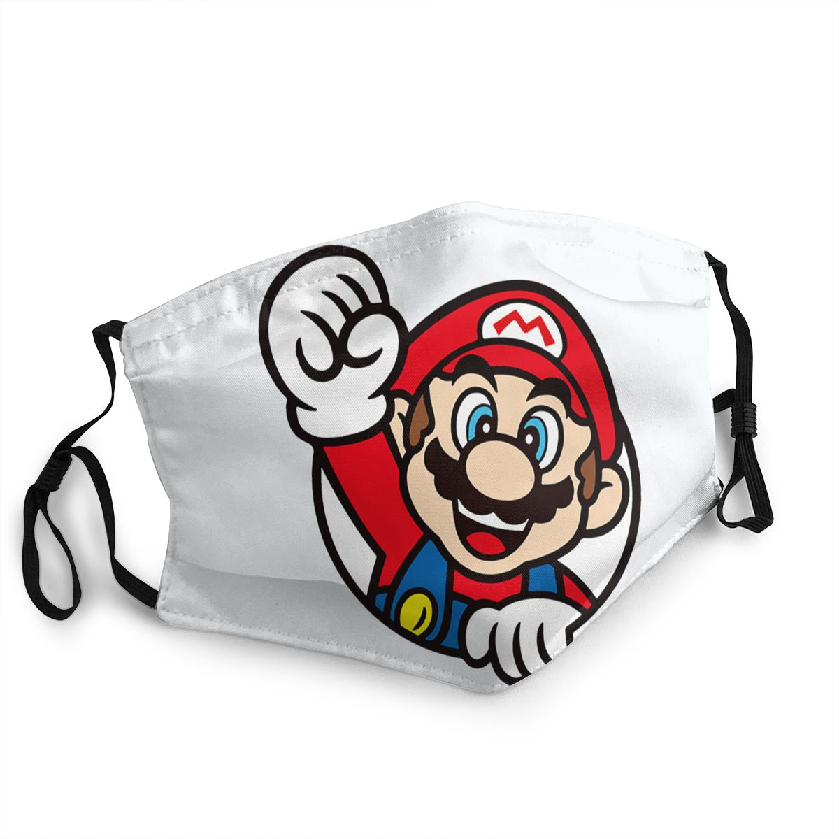 Super Mario Reusable Face Mask Anti Bacterial Dustproof Mask Protection Cover Respirator Mouth Muffle