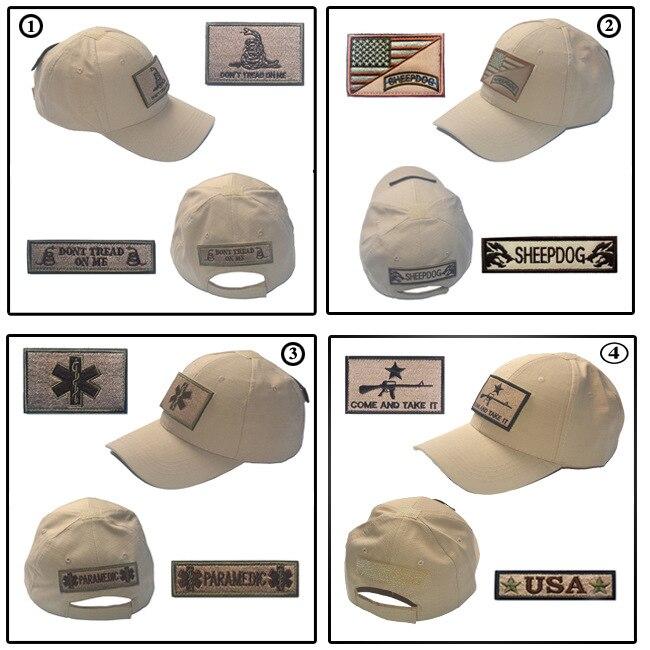 Supply Of Goods Outdoor Tactical Tactical Cap Kaki Baseball Cap Send Velcro Label