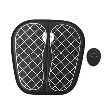 Physiotherapy Foot Massage Mat Electric Vibration Acupoints Massager Relieve Intelligent Portable Foot Massage Machine foot massage machine bubble foot barrels foot bath automatic heating massage acupoints foot home