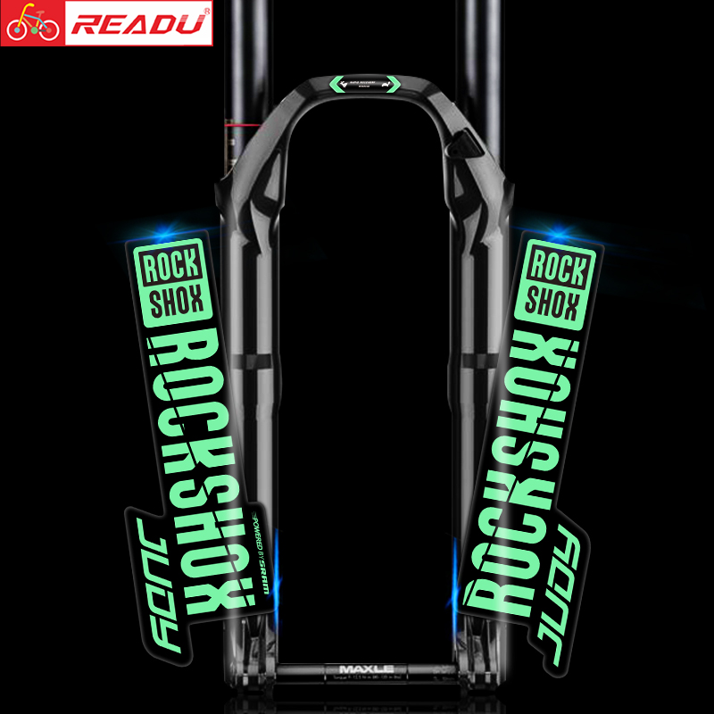 2019 Rockshox Judy Decals Mountainbike Voorvork Stickers Mtb Fiets Voorvork Decals Judy Stickers