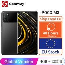 Nueva versión Global POCO M3 4GB RAM 128GB ROM Snapdragon 662 Octa Core 48MP Triple Cámara 6,53