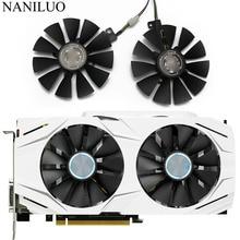 87 мм GTX1060 GTX1070 RX480 вентилятор охлаждения для ASUS GTX 1060 1070 RX 480 Видеокарта T129215SU PLD09210S12HH 28 мм вентиляторы охлаждения