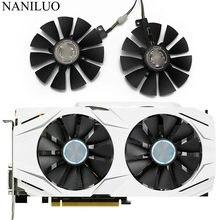 Ventilador cooler 87mm gtx1060 gtx1070 rx480, para placa gráfica asus gtx 1060 1070 rx 480 t129215su › 28mm ventiladores de refrigeração