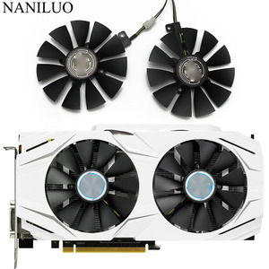 Image 1 - 87MM GTX1060 GTX1070 RX480 Cooler Fan For ASUS GTX 1060 1070 RX 480 Graphics Card  T129215SU PLD09210S12HH 28mm Cooling Fans
