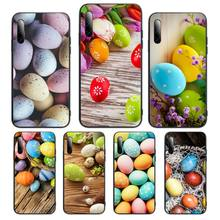 Eggs Happy Easter holiday Phone Case For Huawei P Y Nova mate 20 30 10 40 pro lite smart Cover Fundas Coque