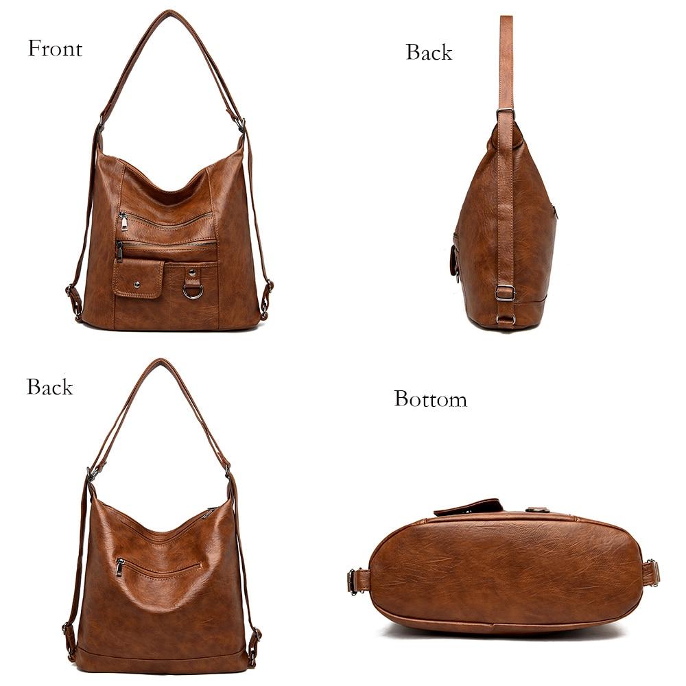 2020 NEW hot Women Leather Handbags Women Messenger Bags Designer Crossbody Bag Women Bolsa Top-handle Bags Tote Shoulder Bags 3