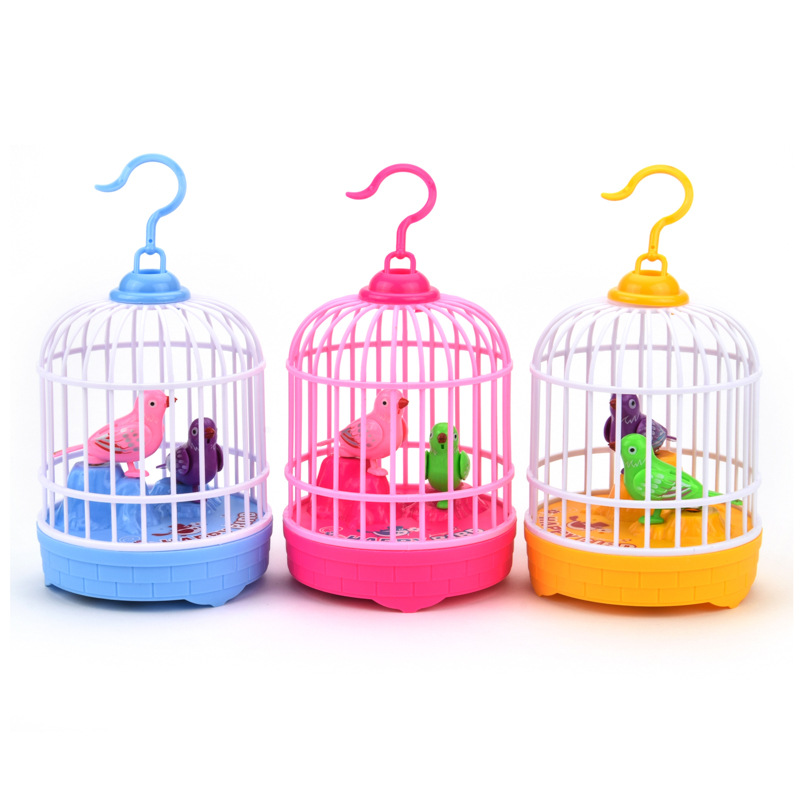 Hot Sale Mini Talking Singing Bird Interactive Electronic Pet Toys Voice Control Music Educational Simulation Bird