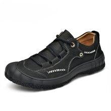 Обувь из 100% натуральной кожи; Мужская повседневная обувь ручной