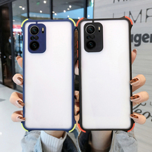 Shockproof Matte Clear Case For Xiaomi Redmi Note 10 9 8 Pro 9s 9T 8T 10s 9A Mi 10T Lite 11 Ultra Poco X3 NFC M3 F3 Back Cover
