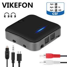 B19 AptX HD Niedrigen Latenz Bluetooth 5,0 Audio Sender Empfänger Musik CSR8675 TV PC Wireless Adapter RCA/SPDIF/3,5mm Aux Jack