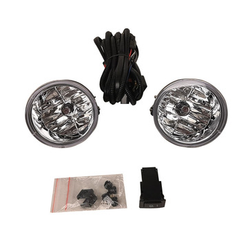 Suitable for Nissan ARMADA TITAN 2004 2005 2006 2007 front bumper fog lamp with switch wire group bulb 880 12V 27W