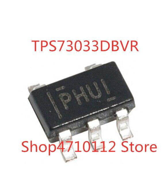 100PCS/LOT NEW TPS73033DBVR TPS73033DBVT TPS73033DBV TPS73033 MARKING PHUI  SOT23-5 IC