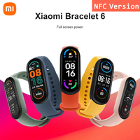 Xiaomi Mi Band 6 Smart Uhr Armband NFC Version Sport Armband Schlaf Herz Rate Fitness Tracker Bluetooth 1.56