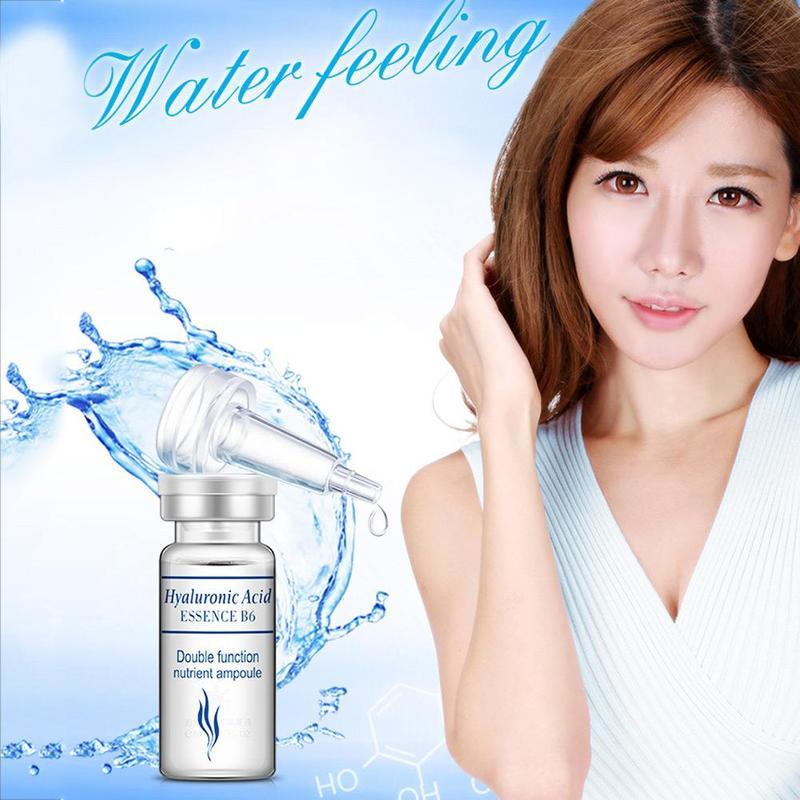 Hyaluronic Acid Moisturizing Serum Vitamins Skin Care Collagen Anti-wrinkle Face Beauty Liquid