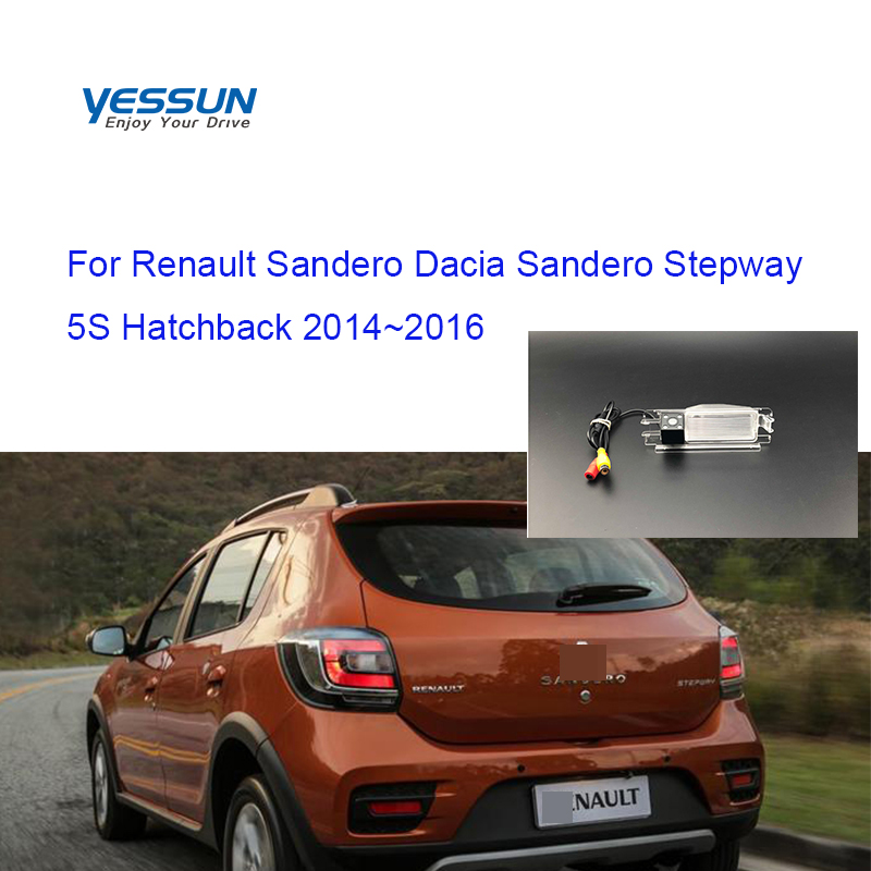 Yessun Car Rear Camera For Renault Sandero/Dacia Sandero Stepway II Stepway 2 5S Hatchback 2012~2019