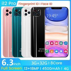 SAILF i12 pro Android 9,0 Восьмиядерный мобильный телефон 6,3 дюйма FHD  18MP Тройная камера 3гб RAM 32 Гб ROM смартфон 4G gsm Global unlocked