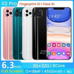 SAILF i12 pro Android 9,0 Восьмиядерный мобильный телефон 6,3 'FHD + 18MP Тройная камера 3G ram 32GB rom смартфон 4G gsm глобальная разблокировка