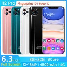 SAILF i12 pro Android 9.0 Octa Core Mobile Phone 6.3' FHD+ 18MP Triple Camera 3G
