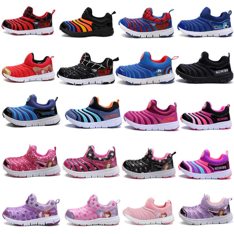 Spring Spiderman Children Shoes For Boys Sneakers Girls Sport Child Casual Light Breathable Baby Boys Flats Kids Shoes