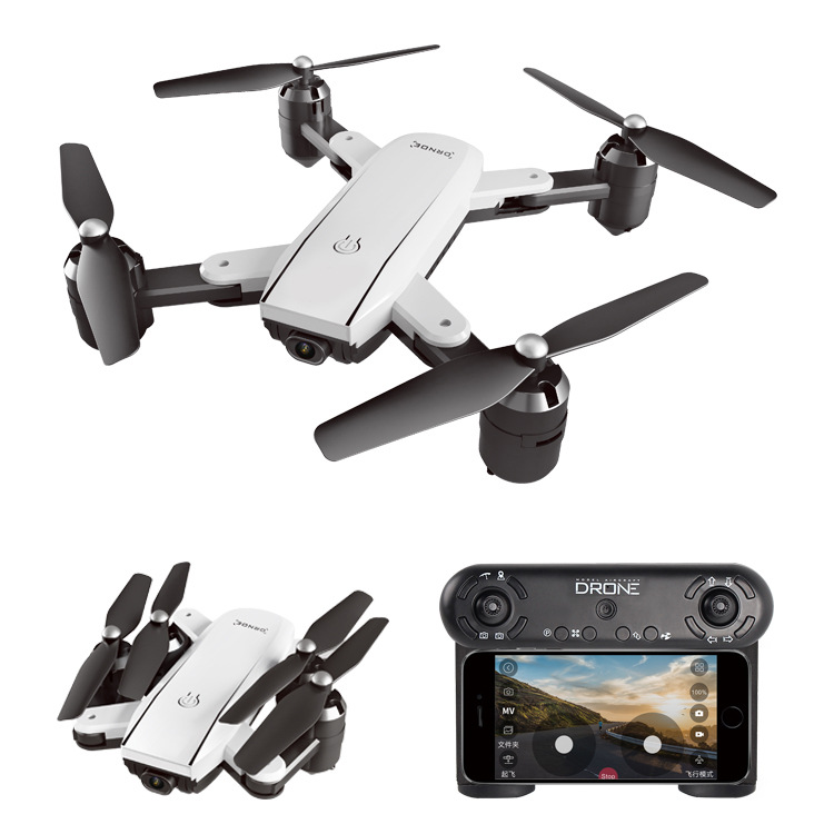 Quadcopter Zd5-g Folding Unmanned Aerial Vehicle Sg700-s Manual Follow 4k Optical Flow Double Camera Aerial Photography
