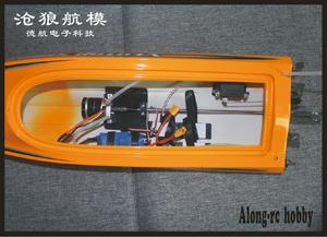 Image 5 - Vector SR80 Pro 44mph Super High RC Remote Control Speed Boat Auto Roll Back Function Metal Hardwares 798 4P PNP or ARTR