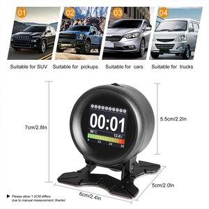 Image 4 - AUTOOL X60 OBD2 HUD OBD רכב דיגיטלי מטרים OBDII ראש למעלה תצוגה עם שמן מדחום דלק צריכת מתח מהירויות עבור אוטומטי