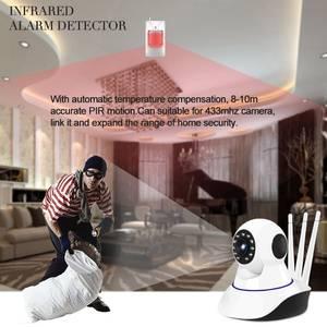 Monitor Ptz-Camera Wifi Babyphone Link-Surveillance Mini Home-Security 1080P Wireless