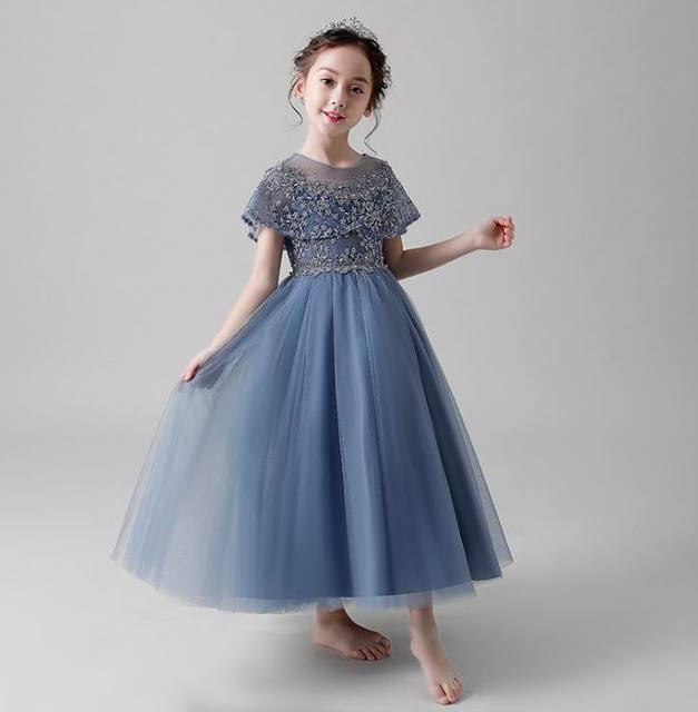 Flower Girl Dress Fluffy Tulle High Low Ball Gown For Wedding Party Princess Dress Children Clothes 2 12y E20260 Aliexpress