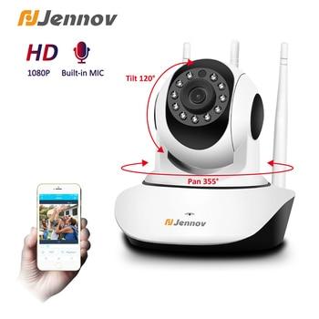 цена на Jennov 1080P IP Camera HD indoor Infrared Night Vision Security Wifi Camera Two Way Audio Talking Wireless Video Surveillance