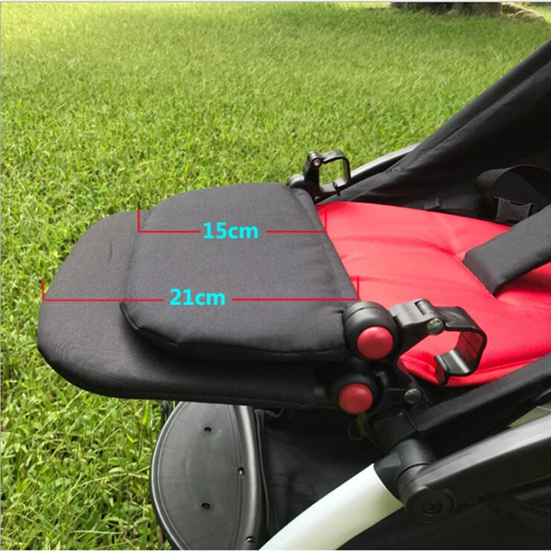 Image 5 - Baby Stroller Foot Rest Extension Feet Sleep Extend Buggy Board Footrest for Babyzen Yoyo Trolley Pushchair Yoya Accessories-in Strollers Accessories from Mother & Kids