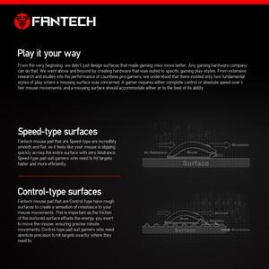 Image 4 - FANTECH MP25 צבע מפרטים מרובים אנטי להחליק גומי טבעי וחלק משטח משחקי משטח עכבר עם נעילת קצה