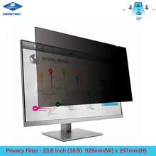23.8 inch Privacy Filter Screen Protector Film for Widescreen Desktop Monitors 16:9 Ratio