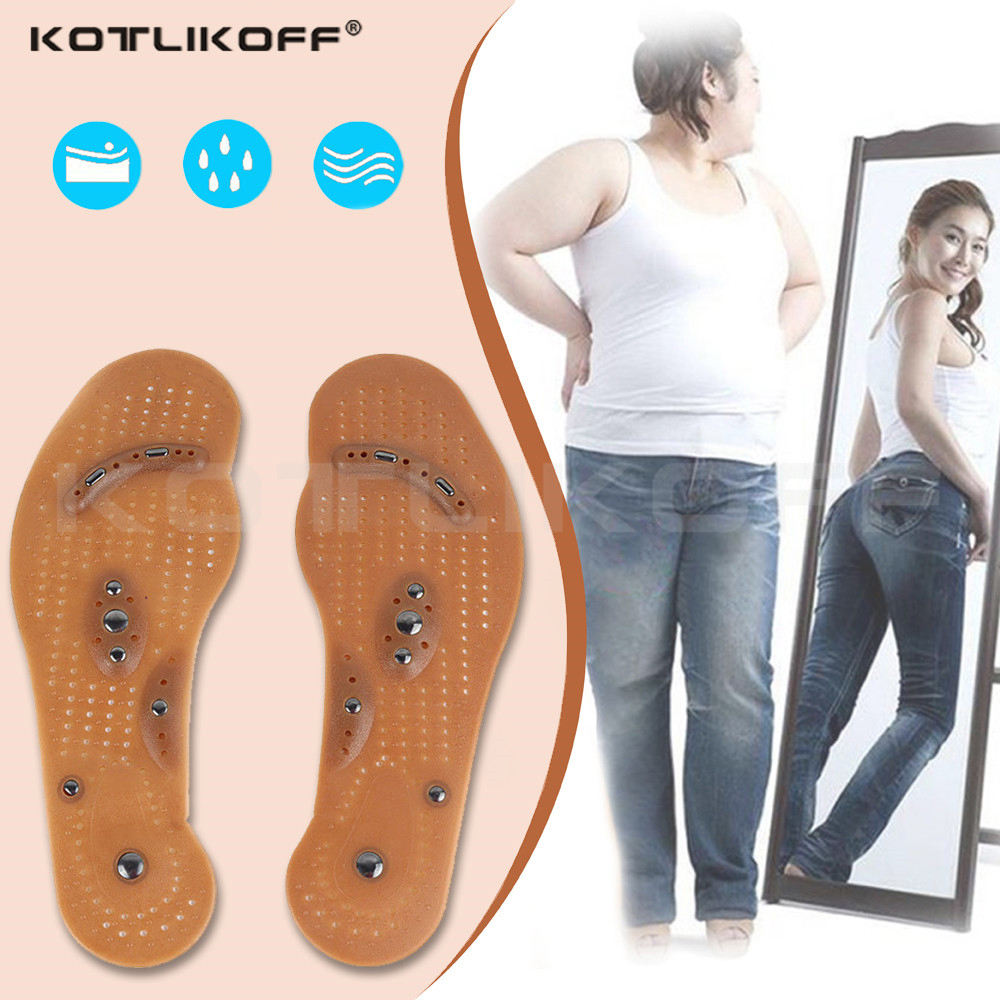 Magnetic Massage Insoles For Slimming Body Health Foot Shoe Relaxation Gifts For Women Mat Pad Acupuncture Massaging Insole Sole