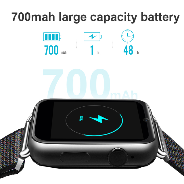 LEMFO LEM10 4G Smart Watch Android 7.1 1.88inch Screen 3GB+32GB Support SIM card WIFI GPS 780mAh Battery Smartwatch Men