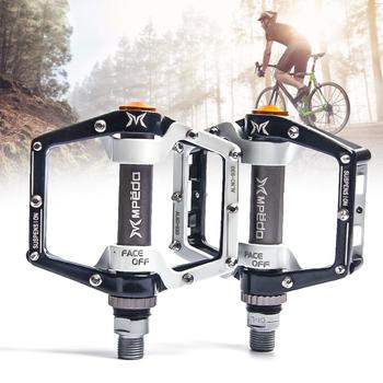 цена на MTB Wide Platform Pedals MTB Bike Flat Pedals 2 Bearings Bicycle Pedals Non-slip Bearing Pedals Bicycle Accessories Dropshipping