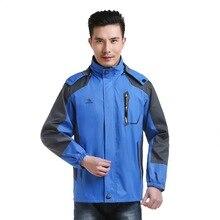 Наружное водонепроницаемое пальто, Мужская одежда, Зимний плащ-куртка «Три в одном»