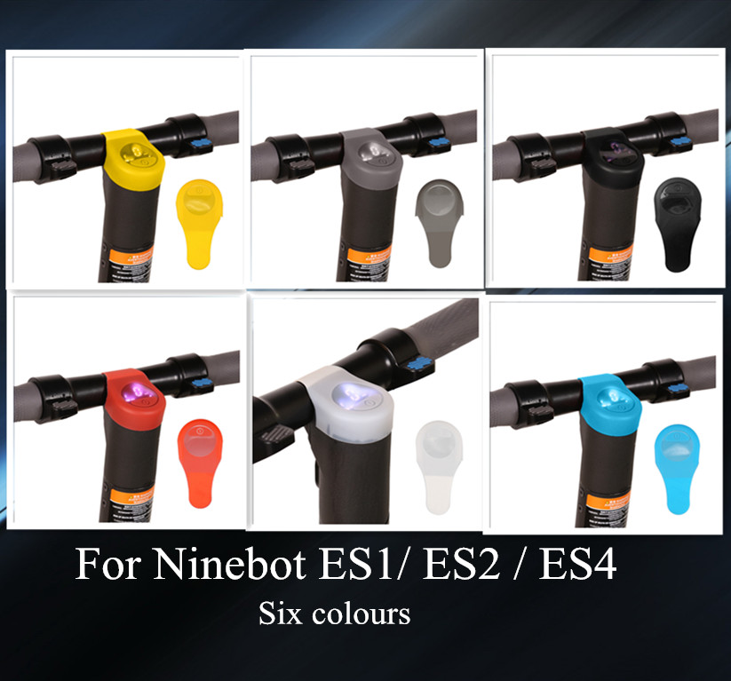 Electric Scooter Waterproof Silicone Case for Ninebot Es1 Es2 Es4 Dashboard Panel Circuit Board Cover Fixing Scratch Protectio